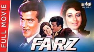 Farz (1967) | Full Hindi Movie | Jeetendra, Babita Shivdasani | Full HD 1080p