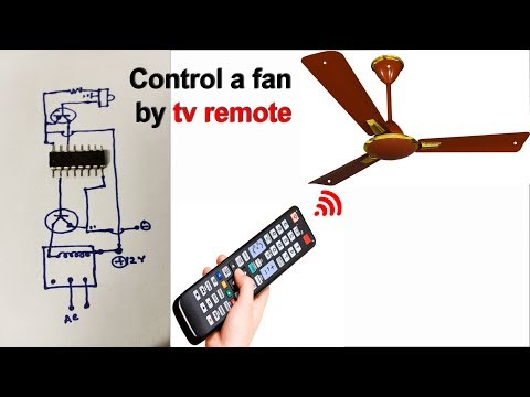 Control a Fan and  Light by a tv remote (Et Discover)