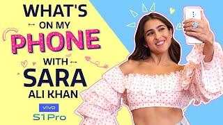 What's On My Phone with Sara Ali Khan | Love Aaj Kal | Pinkvilla | Lifestyle | Bollywood