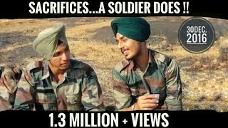 SACRIFICES... A SOLDIER DOES |  SHORT FILM | TRIBUTE TO INDIAN ARMY|