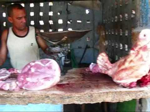 Cuba Travel: A Real Cuban Market in Santiago - Barrio Cangrejos