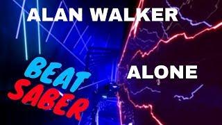 [beat saber] Alan Walker - Alone (expert+) FC