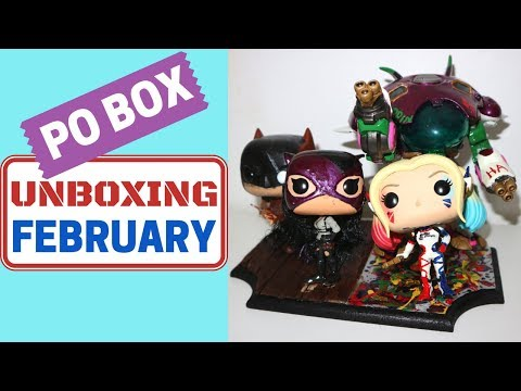 PO BOX Unboxing: February