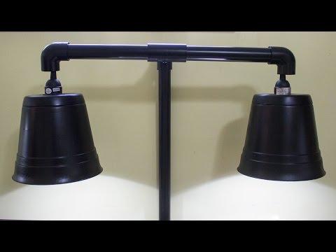 DIY Hassle Free PVC Light Fixture (Vivarium, Terrarium, Aquarium, etc.)