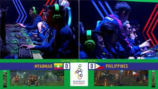 SEA Games 2019: Philippines VS Myanmar in DOTA 2 event | Esports