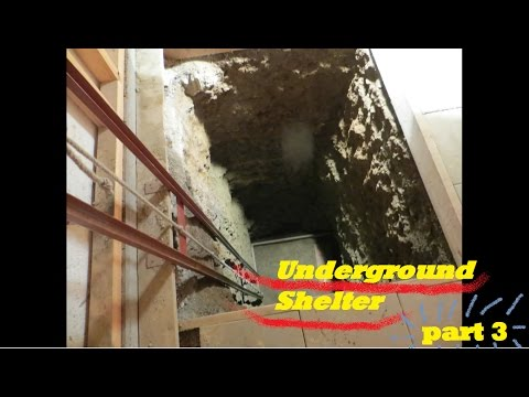 UNDERGROUND shelter, How to build an underground Bunker!!! #3