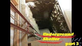 UNDERGROUND shelter, How to build an underground Bunker!!! #3
