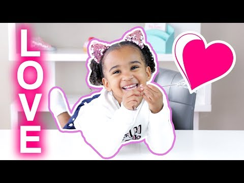 TODDLER EXPLAINS WHAT LOVE IS