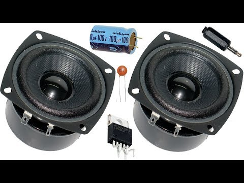 How to make home subwoofer amplifier (LM1875)