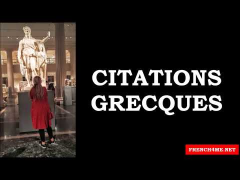 Learn French # Citations grecques # Part48