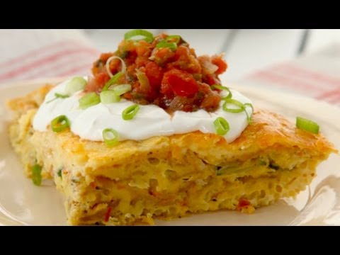 Southwestern Frittata Recipe - Gluten Free with Alex T