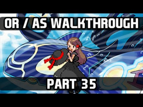 Pokemon Omega Ruby / Alpha Sapphire Gameplay Walkthrough - Part 35 Cave of Origin