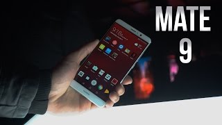 Huawei Mate 9 - Hands On   CES 2017