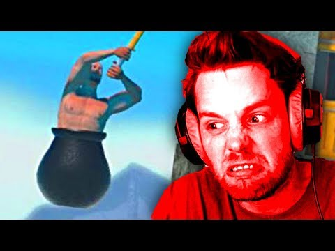 ULTIMATE RAGE GAME   Getting Over It With Bennett Foddy Gameplay [Part 1]