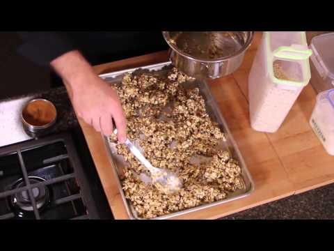 Oatmeal into Granola