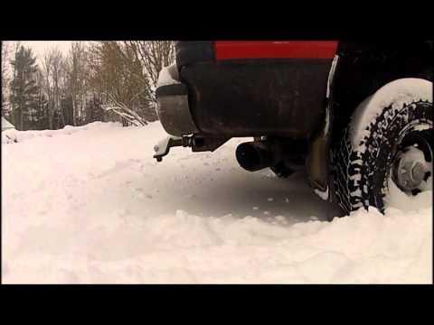 24v Dodge Cummins vs snow bank