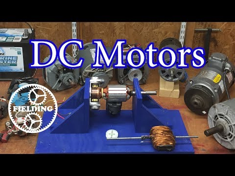 036. How Motors Work For Beginners (Ep 1): The DC Motor
