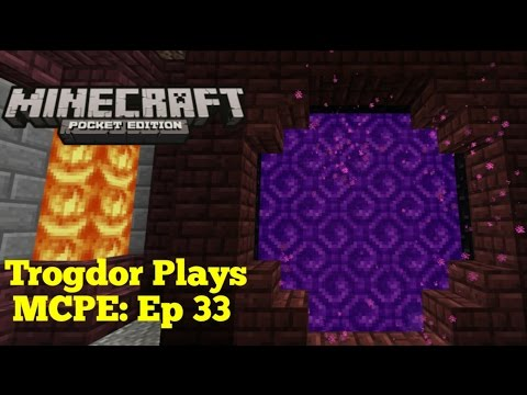 Let's Play Minecraft Pocket Edition: Ep 33 Building Time