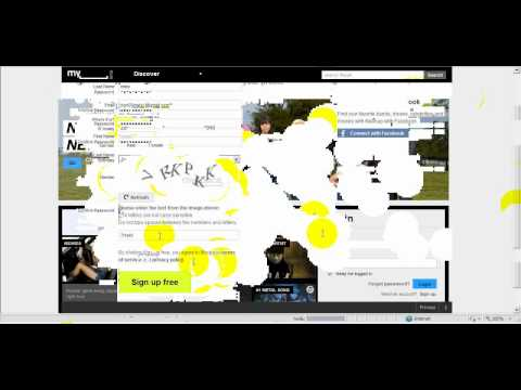 (myspace) How To Get A Myspace Account Or Make A Myspace Account