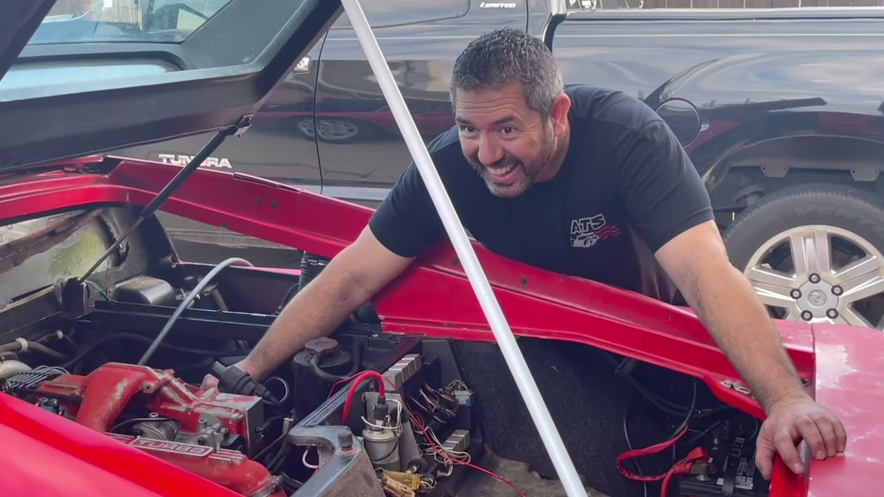 Lotus Esprit Rescue 6 Will it start?