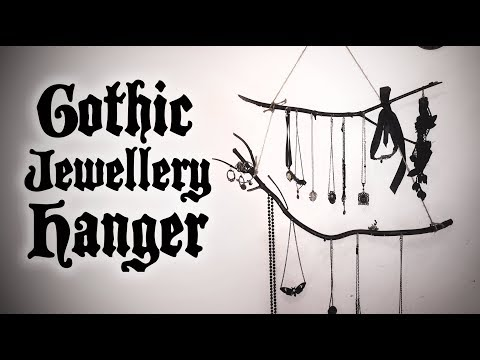 Goth DIY - Easy Witchy Jewellery Hanger | Toxic Tears