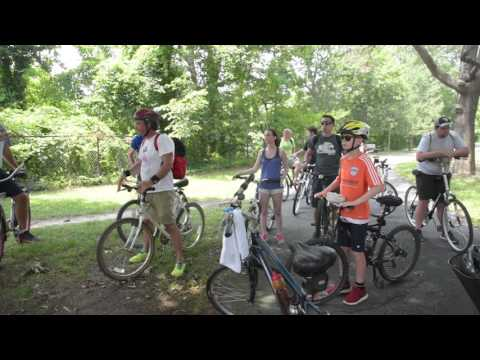 DelDOT Planning Educational Bike Tour of Lewes and Rehoboth Bike Trails