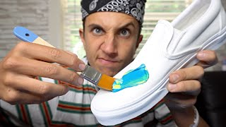 Customizing 6 Pairs of SHOES!! (You WILL be satisfied 😎!)