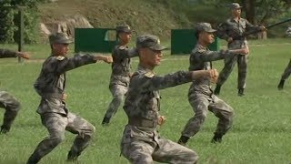 A day in the life of a PLA soldier in Hong Kong