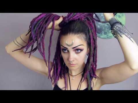 Wool Dreads tutorial by Psychara