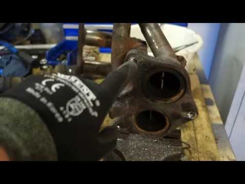 How to fix cut and broken bolts issue in exhaust manifold