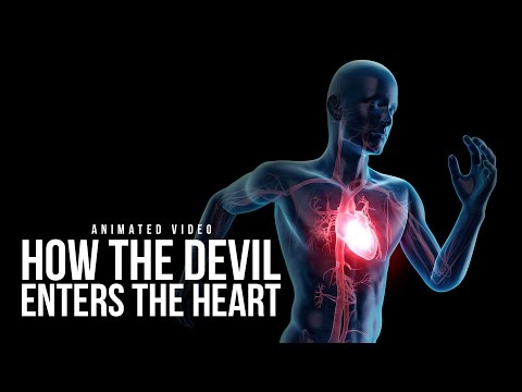 How Satan Enters The Heart (Animated Video)