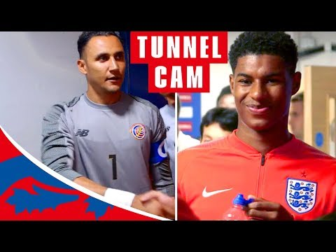 England v Costa Rica Tunnel Cam | Inside England's 2-0 Win in Final Warm-Up Game | England
