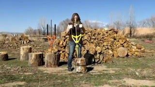 Splitting wood has never been SAFER....