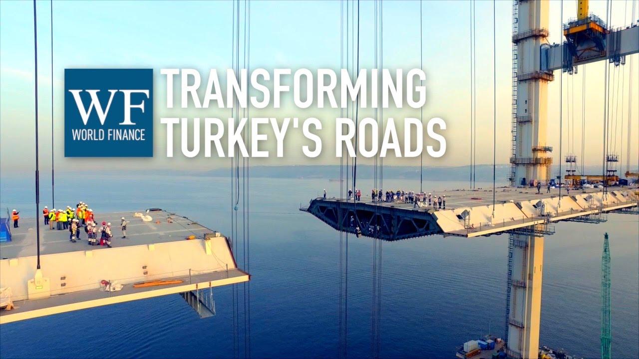 Gebze-Orhangazi-Izmir motorway: Osman Gazi Bridge construction timelapse | World Finance