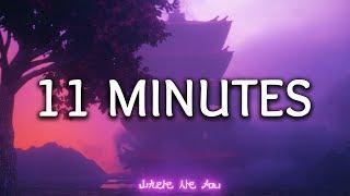 YUNGBLUD, Halsey ‒ 11 Minutes (Lyrics) ft. Travis Barker