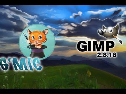 GIMP G'MIC Plugin Install on Mac OS X