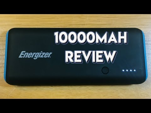 Energizer Max Power Bank 10000mah 2018 Review