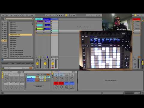Automatically Change Synths in Ableton Live