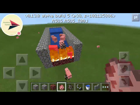 How to make the meat grinder (Minecraft PE)