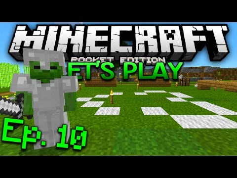 Minecraft PE Survival Let's Play Ep. 10 - The Higher Path!