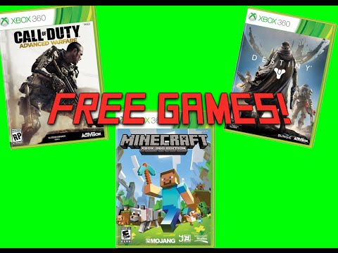 Xbox 360 - HOW TO GET ANY GAME FOR FREE!