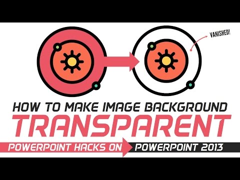 How to remove picture background! Transparent background feature   PowerPoint Pro!