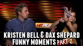 Kristen Bell and Dax Shepard Funny Moments Part 2