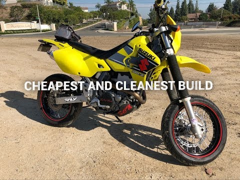 DRZ 400 SUPERMOTO BUILD: THE COST TO CONVERT