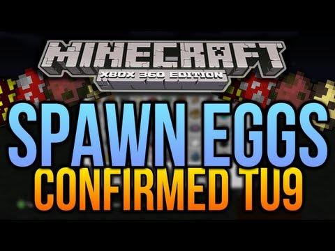 Minecraft (Xbox 360) : SPAWN EGGS Confirmed! - TU9 | NO Jungles or Ocelots? (Screenshot)