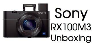 Sony DSCRX100M3 Unboxing