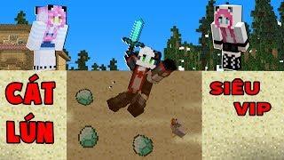 Panda MỀu Troll Redhood BẰng CÁt LÚn SiÊu Vip Trong Minecraft Pe*