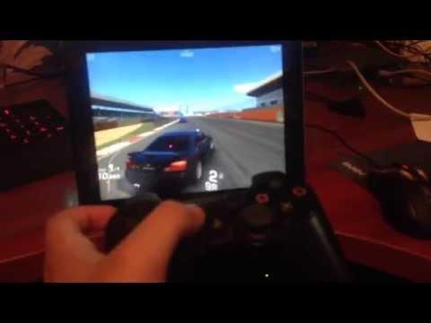 Ipad+ps3 controller Real Racing 3