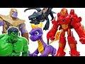 Thanos Appeard Turn Into Iron Man With Armor Spyro ToyMartTV