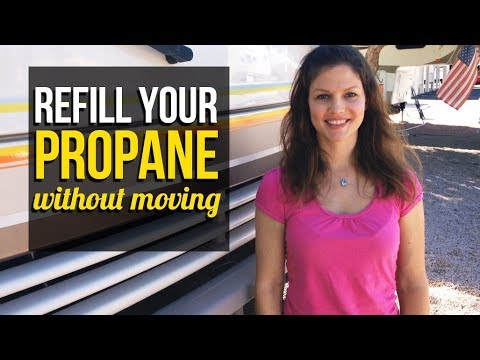 RV Living - How to refill your propane tank without moving your RV